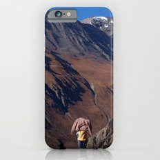Enjoying the Scenery Yak Kharka to Thorung Phedi Slim Case iPhone 6s