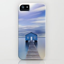 Blue Boat House iPhone Case