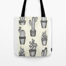 Prickly Friends Tote Bag