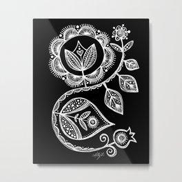 White Flower 15 Metal Print