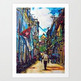 Havana, CUBA No.2 | 2015 Art Print