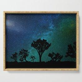 Milky Way Joshua Tree Serving Tray