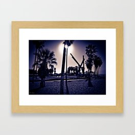 Venice Beach #4 Framed Art Print