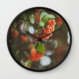 145 - Berries Wall Clock