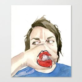 New Mouth Canvas Print