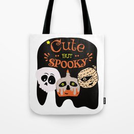 Cute But Spooky | Halloween friends | The Joyful Holidays Tote Bag