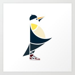 Happy Sneaks Art Print