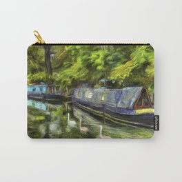 Narrow Boats Little Venice art Carry-All Pouch