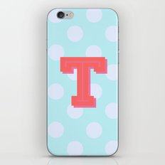 T is for Terrific iPhone & iPod Skin
