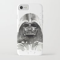 darth iPhone & iPod Cases featuring Darth Vader by Olechka