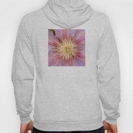 Sugar-Pink Flower Design Hoody