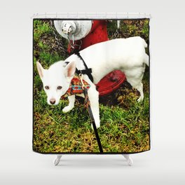 Leave Your Mark Shower Curtain