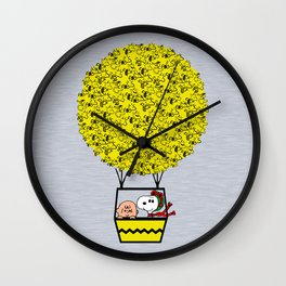 I can fly Wall Clock