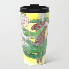 The Golden Glow of The Self-absorbed Travel Mug