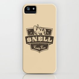 Snell Family Farm iPhone Case