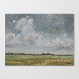 open sky 2 Canvas Print