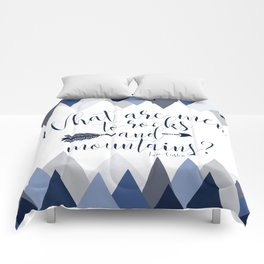 Pride & Prejudice - Mountains Comforters