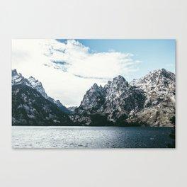 Jackson Hole Mountains Canvas Print