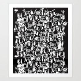 VANDAL CLASSICS Art Print