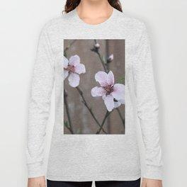 Peach Blossoms Long Sleeve T-shirt