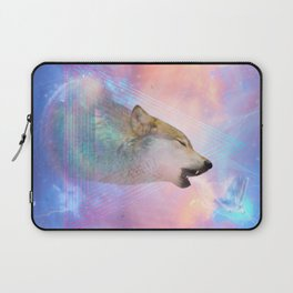 Dream By Day (Wolf Dreams - Remix Series) Laptop Sleeve