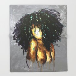 Naturally LXVIII Throw Blanket