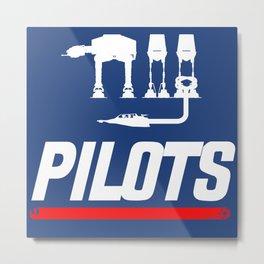 NY Pilots Metal Print