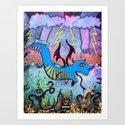 Blue Monster by joshfunk