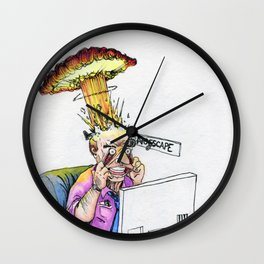 Just Another Day on the Job Wall Clock