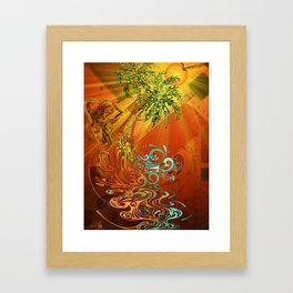 Palolem Framed Art Print