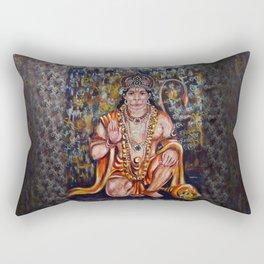 Hanuman Rectangular Pillow