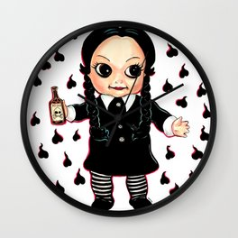 Wednesday Kewpie Wall Clock