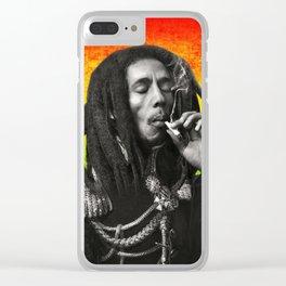 marley bob general portrait painting | Up In Smoke Fan Art Clear iPhone Case