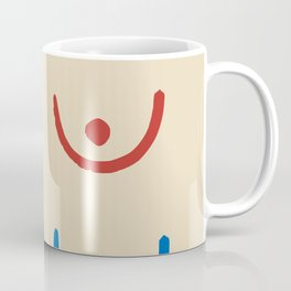 Boobs minimal Coffee Mug