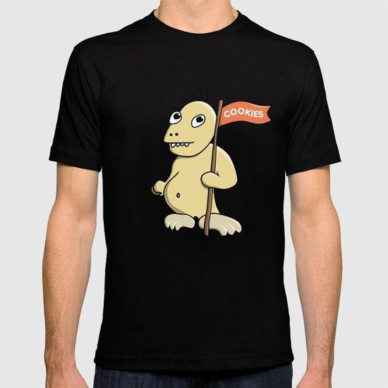 Funny Cartoon Cookie Monster T-shirt