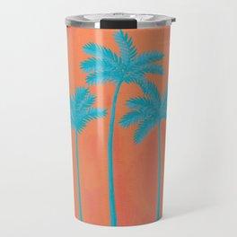 Turquoise Palms Travel Mug