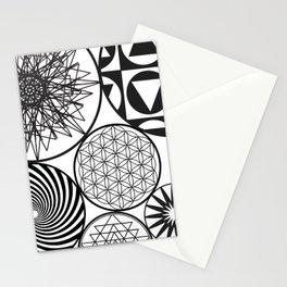 NAKED GEOMETRY no 9 Stationery Cards
