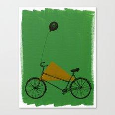 confidant II. (bicycle) Canvas Print