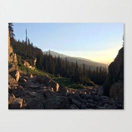 Upper Ouzel Creek Canvas Print