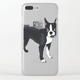 Attack of the colossa Clear iPhone Case