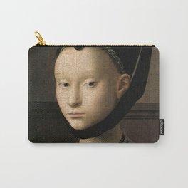 Petrus Christus - Portrait of a Young Woman Carry-All Pouch