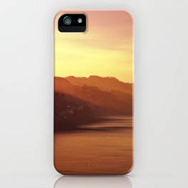 Costa guipuzcoana iPhone Case