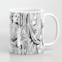 stencil frieze children Coffee Mug