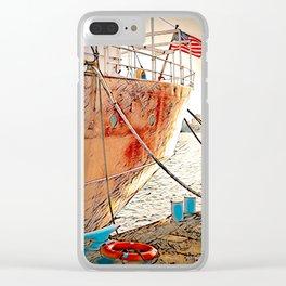 Nantucket Lightship, Boston Clear iPhone Case