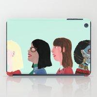 women iPad Cases featuring women by Alejandra Hernandez