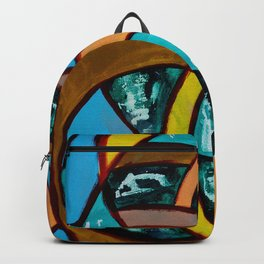 Composition #8 by Michael Moffa Backpack