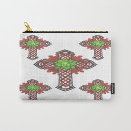 crystal celtic cross Carry-All Pouch