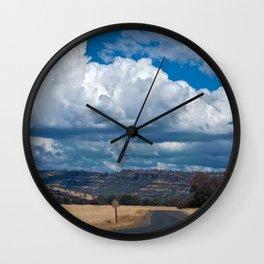 Upper Bidwell Park, Chico CA  Wall Clock