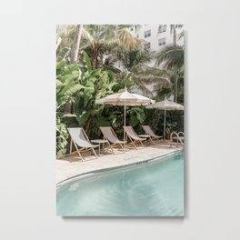 Miami Beach, Florida Metal Print