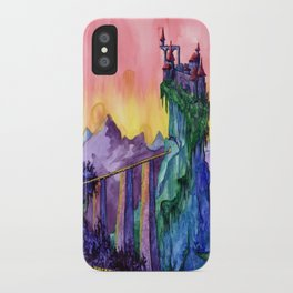 Castle Dracula iPhone Case